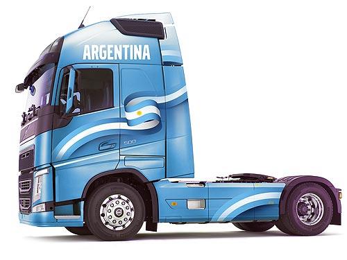 Покупателям лимитированной серии грузовиков Volvo FH Argentina и Tango Edition дарят путешествие в Аргентину - Volvo