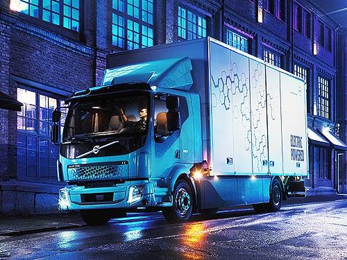 Каким будет первый полностью электрический грузовой автомобиль Volvo FL Electric