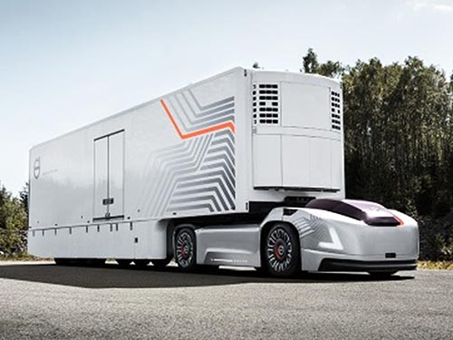Volvo Trucks представила проект автономных электрогрузовиков будущего