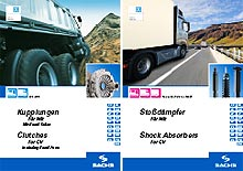 Для грузовых автомобилей доступен новый каталог SACHS - SACHS