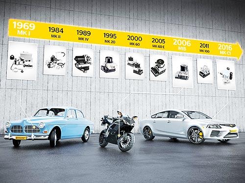 ABS от Continental исполняется 50 лет