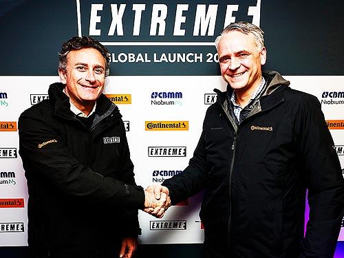 Continental запустит новую гоночную серию на электровнедорожниках Extreme E