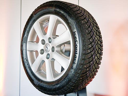 Continental представляет инновационную технологию для шипованых шин