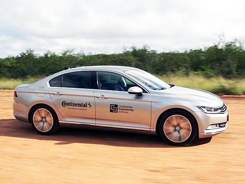 Continental будет использовать автономные робомобили для тестирования шин