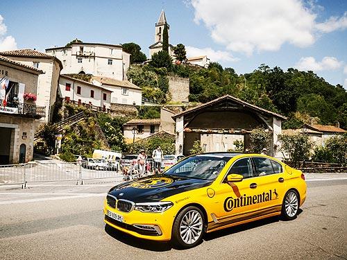 Continental стал главным партнером велогонки Тур де Франс в 2019 году