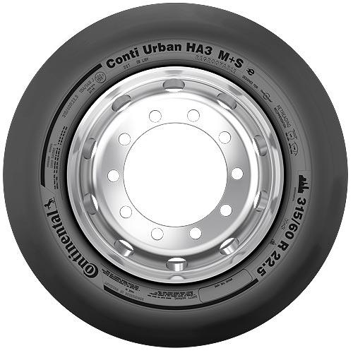 Continental представляет шину для электробусов