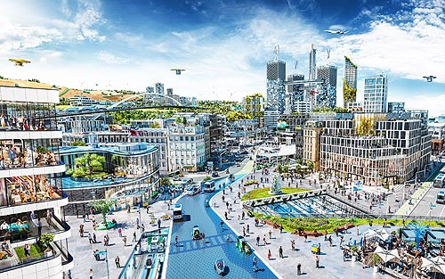 Каким будет Город Будущего. Видение Continental