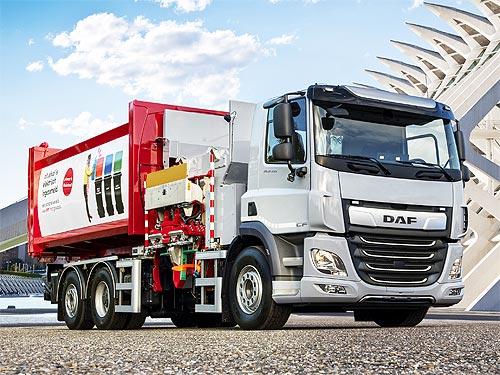DAF представил электрический CF Electric 6x2