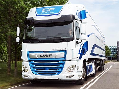 Электрические DAF CF Electric уже проехали 150 тыс. км