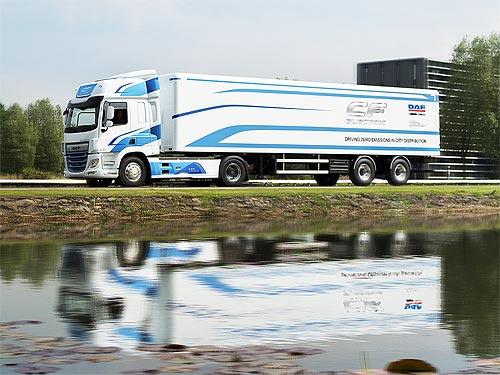 Электрические DAF CF Electric уже проехали 150 тыс. км - DAF