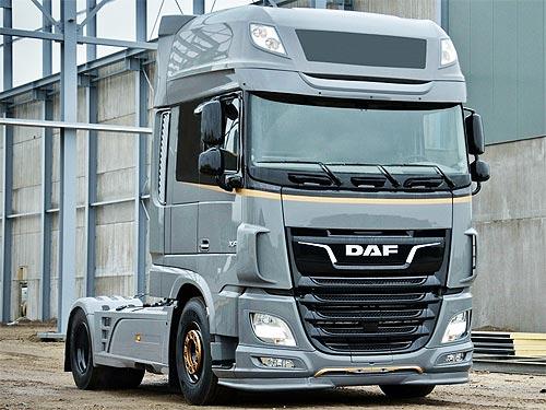DAF представляет на украинском рынке спецверсию тягача для международных перевозок