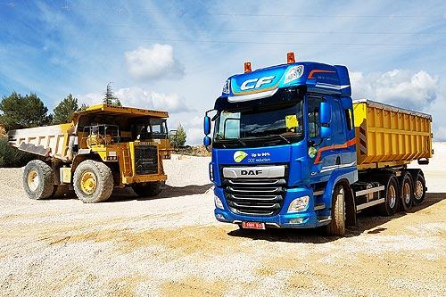 DAF представил грузовик, способный развернуться почти на месте