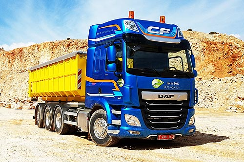 DAF представил для строительного сегмента максимально широкий спектр шасси: от 4х2 до 10х4 - DAF