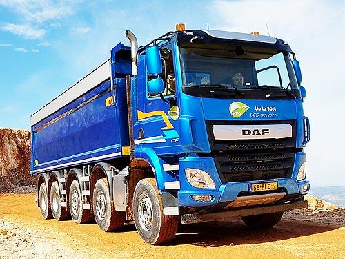 DAF представил 50-тонный самосвал