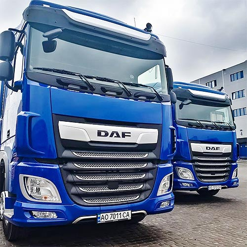 Крупный перевозчик снова выбрал тягачи DAF XF