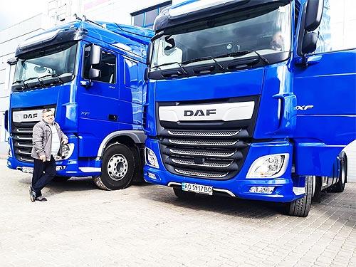 DAF наращивает поставки тягачей для международных перевозок
