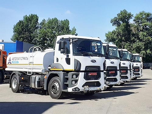 «Автомагистраль-Юг» получила партию новых грузовиков Ford Trucks