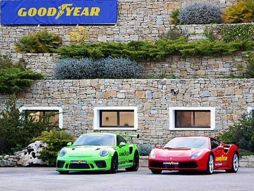 На каких шинах должны ездить Ferrari и Porsche. Тест высокоскоростных шин Goodyear