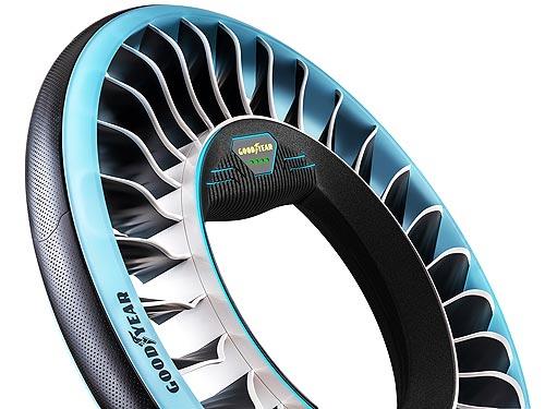Goodyear представила концепт шины для автономных и летающих автомобилей