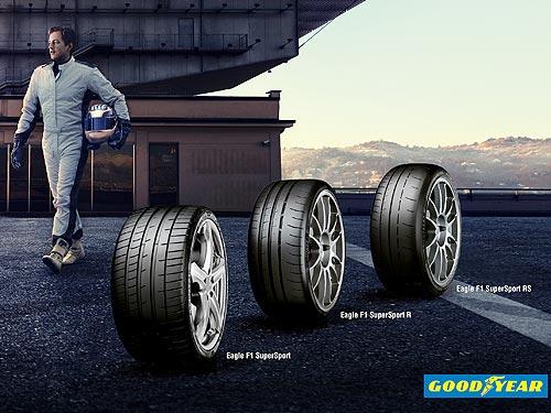 На автосалоне в Женеве дебютировала новая линейка сверхскоростных шин Goodyear Eagle F1 SuperSport