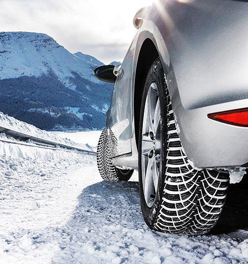 Goodyear представил новинки шин к зимнему сезону