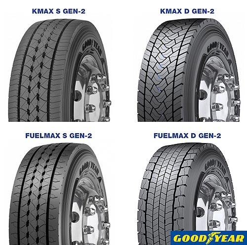 Goodyear представляет две новые флагманские линейки грузовых шин