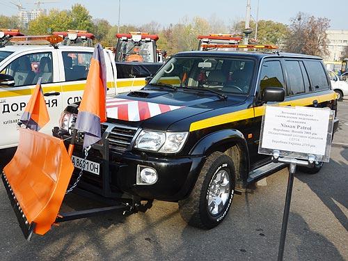 «Киевавтодор» показал, с помощью какой техники будет чистить город зимой - автодор