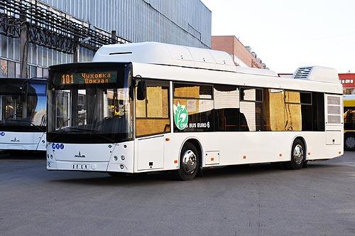 Киев закупит газовые городские автобусы