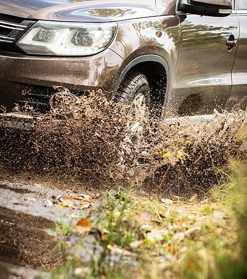 Похолодание и дожди. Советы по безопасному вождению осенью - осень