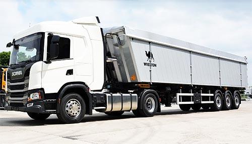 Scania представит новинку для аграриев