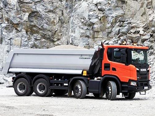 Scania представит новинки для строительного сегмента - Scania