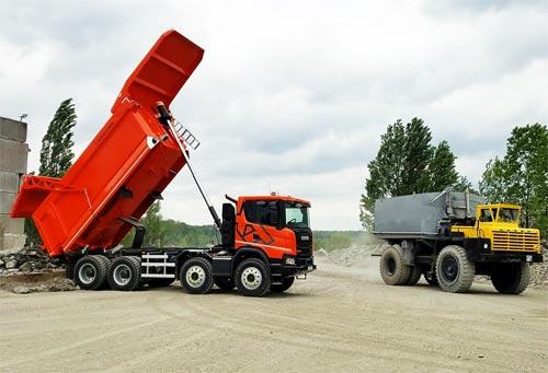 Scania наступает на БелАЗ в Украине