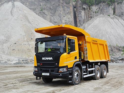 Scania наступает на БелАЗ в Украине - Scania