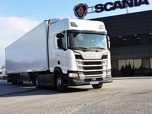 Грузовики Scania будут возить в ЕС еще больше украинских сладостей