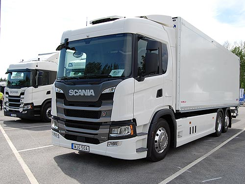 Scania представила газовый тягач LNG с рекордно низкой себестоимостью километра