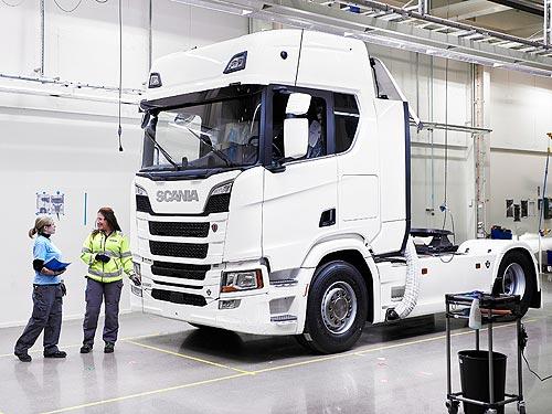 Как делают грузовики Scania. Репортаж с завода в Сёдертелье - Scania