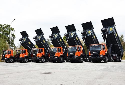 Scania поставила крупную партию самосвалов для работы на меткомбинате