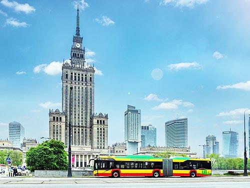 Solaris заключила крупнейший контракт на поставку 130 сочлененных электроавтобусов