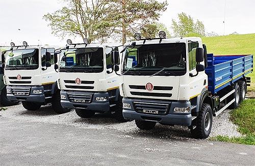 В Украину поставлена еще одна партия грузовиков TATRA