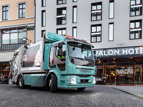 В Швеции начали эксплуатацию электрических грузовиков Volvo FL Electric и Volvo FE Electric