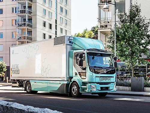 Volvo Trucks начинает продажи электрогрузовиков