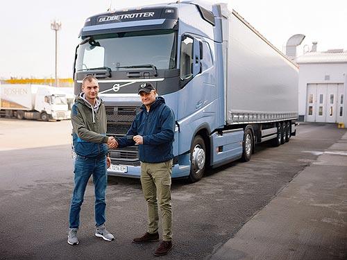 Крупнейший украинский перевозчик проверит: Действительно ли система I-Save на Volvo FH экономит 5% топлива? - Volvo