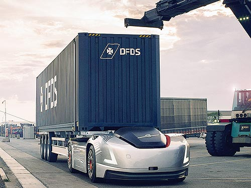 Volvo Trucks начала испытания беспилотного электрогрузовика в Швеции