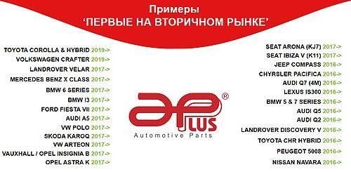 APPLUS – лучшее предложение на рынке запчастей подвески и рулевого управления - запчаст