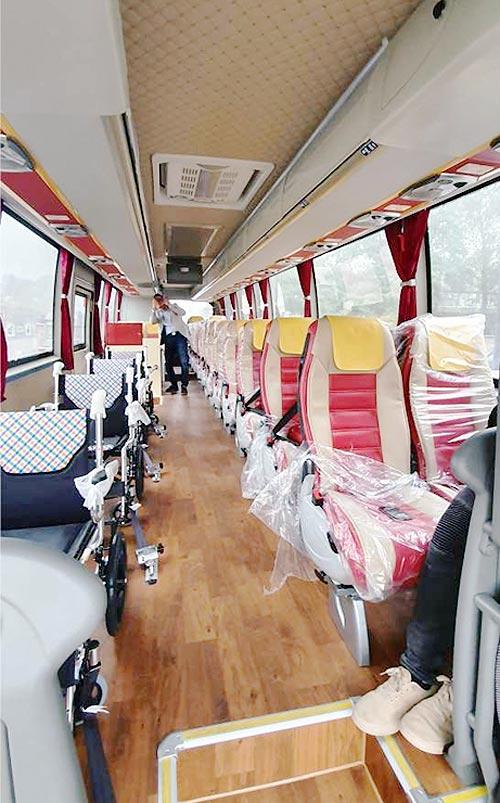 В Украину поставили уникальные туристические автобусы ASIASTAR - ASIASTAR