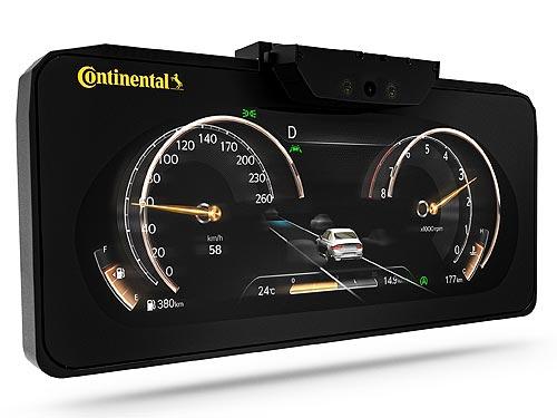 Continental представляет 3D-дисплей