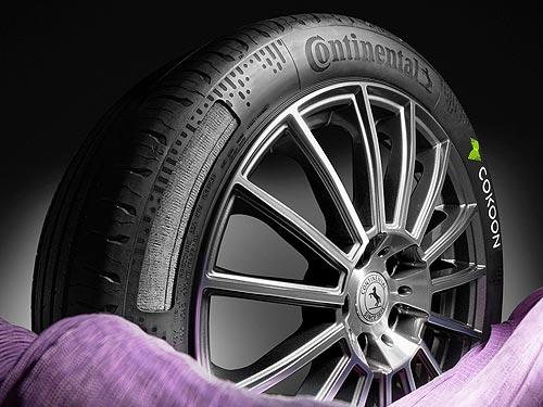 Continental начинает выпуск шин с технологией Cokoon dip