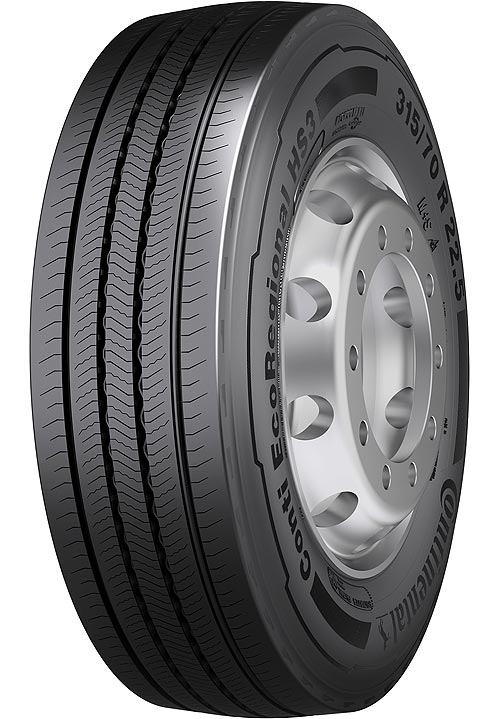Continental представляет новую грузовую линейку шин - Continental