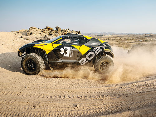 Continental стал соучредителем и премиум спонсором экстремальных гонок Extreme E - Continental