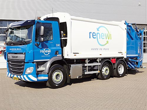 Компания по утилизации отходов закупает еще 200 грузовиков DAF